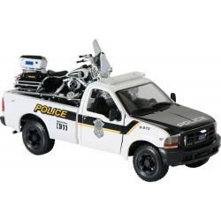 Maisto policyjny pickup Electra Glide Harley Davidson, skala 1:24