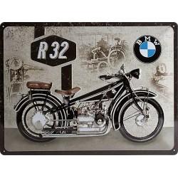 Blaszany szyld dla motocyklisty Harley Davidson Wymiary: 30x40 cm