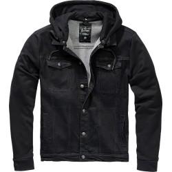 Kurtka jeansowa Brandit Craddock czarna