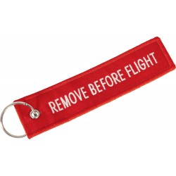 Breloczek REMOVE BEFORE FLIGHT