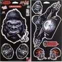 Naklejka Gorilla Series 2-pak, 8 sztuk