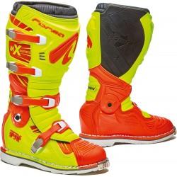 Forma Terrain TX buty enduro zółto pomarańczowe