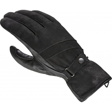 Rękawice motocyklowe HIGHWAY 1 VINTAGE czarne nubuk