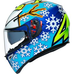 Kask zimowy AGV K3 SV Rossi zimowy