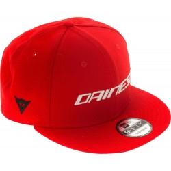 Dainese 9Fifty Wool Czapka Snapback czerwona