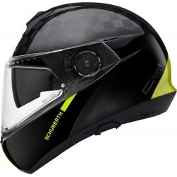 Schuberth C4 Pro Carbon Fusion Yellow Flip-Up kask szczękowy