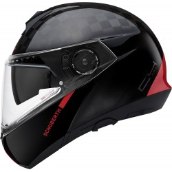 Schuberth C4 Pro Carbon Fusion Red Flip-Up kask szczękowy