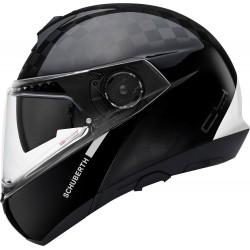Schuberth C4 Pro Carbon Fusion White Flip-Up kask szczękowy