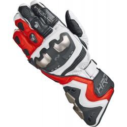 HELD Titan RR 22010 Rękawice motocyklowe sportowe czarno biało czerwone
