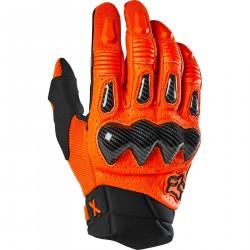 Fox BOMBER  rękawice cross enduro czarno pomarańczowe