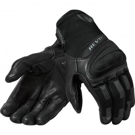 REVIT STRIKER 3  Rękawice rękawice miejskie czarne
