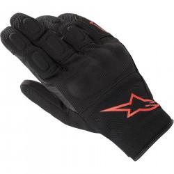 Alpinestars S Max Drystar Rękawice rękawice miejskie czarno czerwone