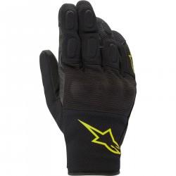 Alpinestars S Max Drystar Rękawice rękawice miejskie czarno żółte