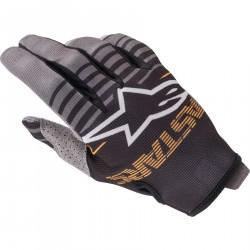 Alpinestars RADAR Rękawice rękawice cross enduro czarno szare