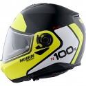Nolan N100-5 Plus Destinctive n-com Kask typu flip -up szczękowy czarno żółty