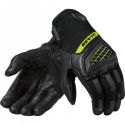 REVIT Neutron 3  Rękawice rękawice miejskie czarno żółte