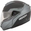 Nishua NFX-3 Kask szczękowy Flip-up czarno szary