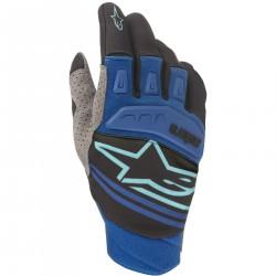 Rękawiczki Alpinestars Techstar niebieskie