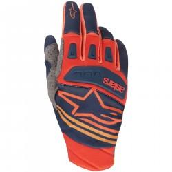 Rękawiczki Alpinestars Techstar czerowno niebieskie