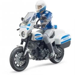 Bruder Model Motocykl policyjny Ducati, w tym motocykl i policjant