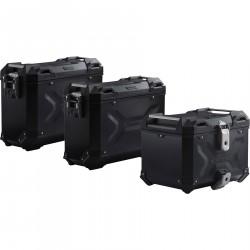SW-MOTECH Zestaw walizek TRAX Adventure-Set, czarny