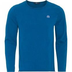 Koszula z długim rękawem KingKerosin niebieska