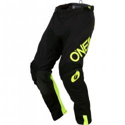 Spodnie MX Oneal Mayhem Hexx, czarno żółte cross enduro