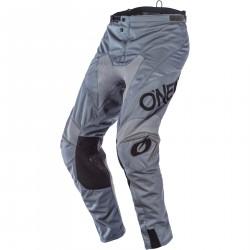 Spodnie MX Oneal Mayhem Hexx, szare cross enduro