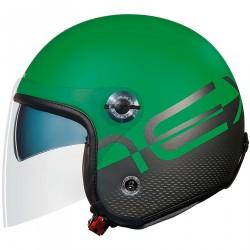 Nexx X.70 City X kask typu Jet antracytowo zielony