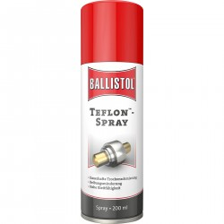 Ballistol Teflon spray...