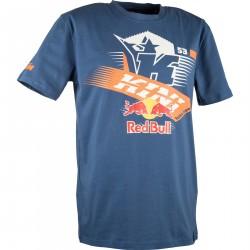 Kini Red Bull Sportowa koszulka niebieska męska
