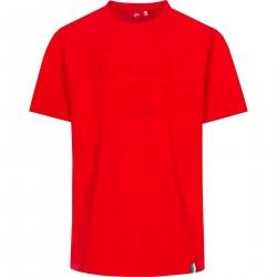Koszulka z logo Ducati Corse Tonal czerwona męska