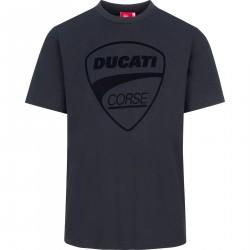 Koszulka z logo Ducati Corse Tonal czarna