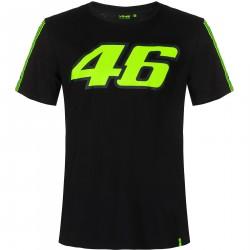 VR46 Koszulka czarna z...