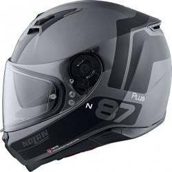 Nolan N87 Plus Charakterystyczny n-com kask integralny antracyt