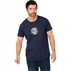 Koszulka T-SHIRT WCC CROSS niebieska męska