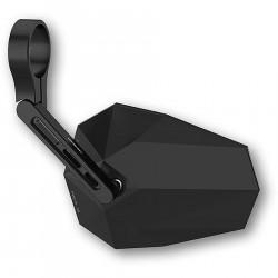 HIGHSIDER Krótkie lusterko końcowe na kierownicy STEALTH-X5